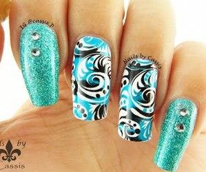 ete, nail, and nail art image