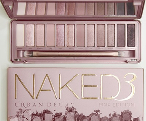 makeup, urban decay, and girly image