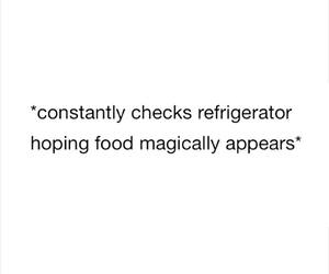 food, funny, and refrigerator image