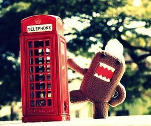 domo kun, london, and telephone image