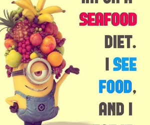 diet, funny, and food image