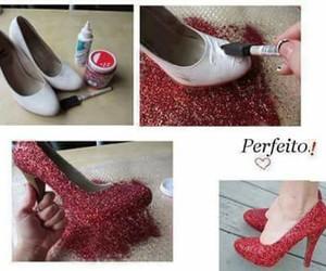 zapatos, manualidad, and reutiliza image