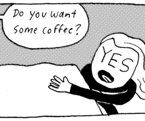 coffee, morning, and me image