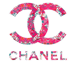 background, chanel, and gold image
