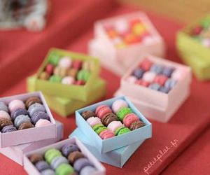 delicious, macarons, and macaroons image
