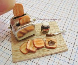 nutella, cute, and miniature image