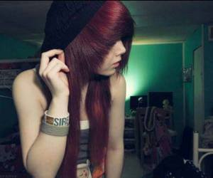 different, emo, and hair image