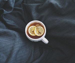 tea and lemon image