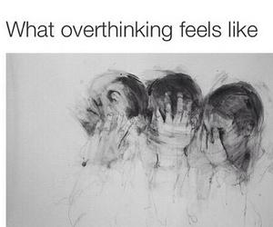 overthinking and feelings image
