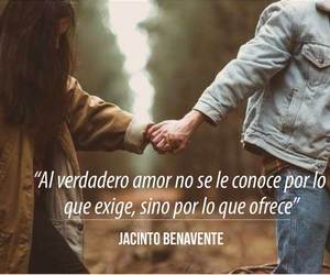 love, frases, and jacinto benavente image