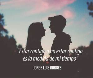 love, frases, and jorge luis borges image