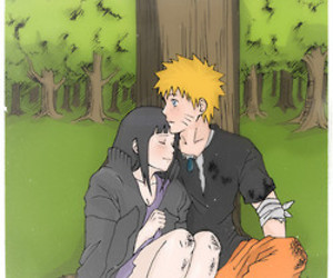 anime, hinata, and manga image