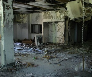 abandoned, old, and scary image