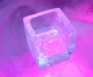 ice, pink, and purple image