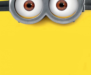cartoon, iphone, and minions image