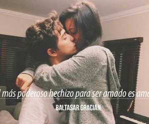 love, baltasar gracian, and frases image