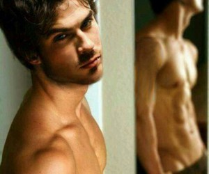 sexy, ian, and the vampire diaries image