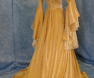 dress, medieval, and princess image