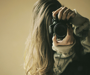 photography and woman image