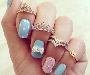 girls, rings, and style image