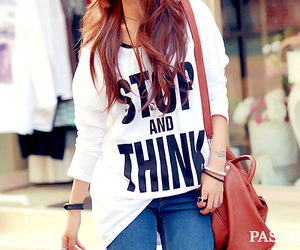fashion, stop, and think image