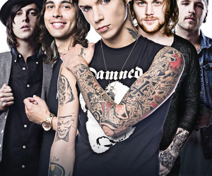andy biersack, bands, and kellin quinn image