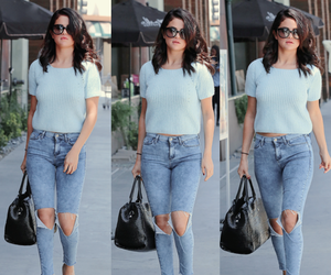 fashion, outfit, and selena image