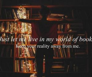 book, reality, and world image