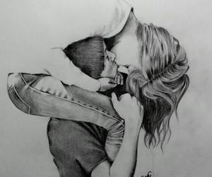 art, draw, and girl image