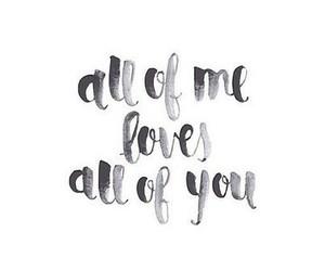 love, Lyrics, and all of me image