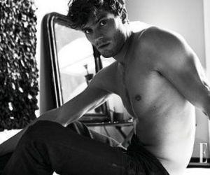 Jamie Dornan, christian grey, and 50 shades of grey image