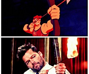 disney, fan, and hercules image