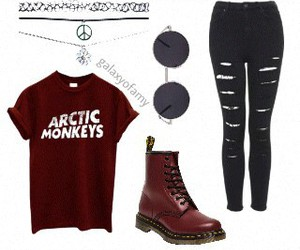 arctic monkeys outfit and galaxyofcim image