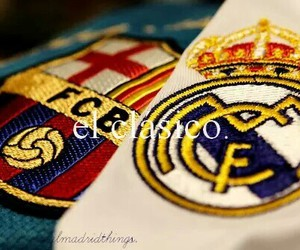 real madrid, Barcelona, and el classico image