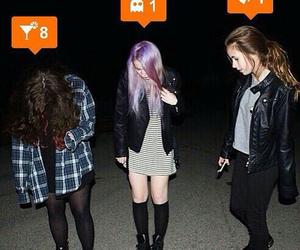 girls and grunge image