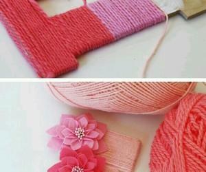 diy, pink, and crafts image