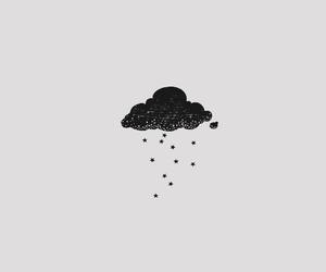 black. white image