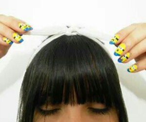 disney, nails, and despicableme image