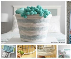 basket, decoration, and diy image