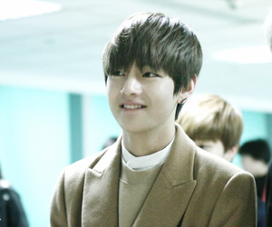 airport, handsome, and v image