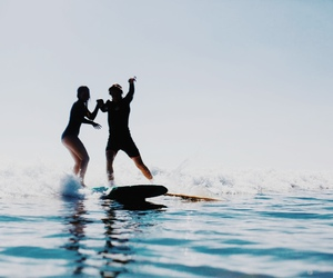 summer, ocean, and love image