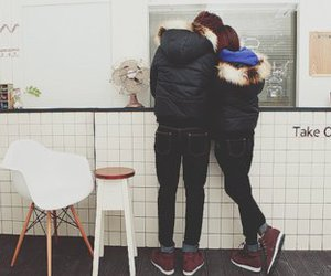 couple, boy, and ulzzang image