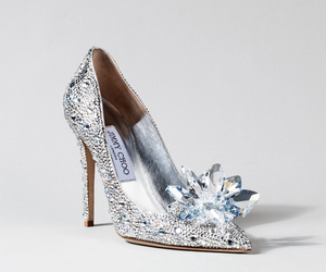 shoes, Jimmy Choo, and cinderella image
