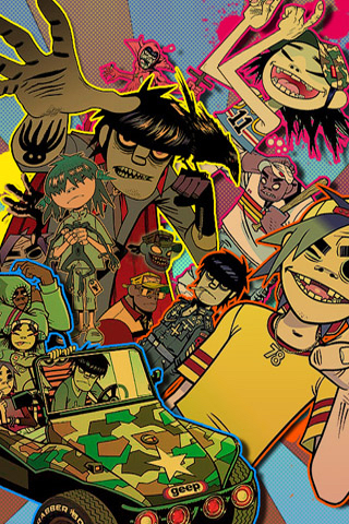 Image About Wallpaper In Gorillaz By Unicornsandsprinkles12