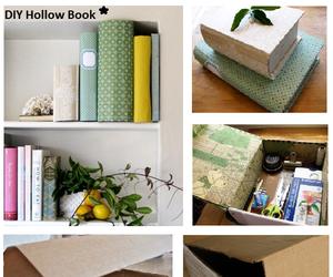 book, cardboard, and diy image