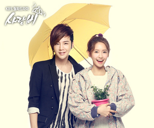 jang geun suk, love rain, and yoona image