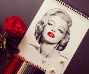 art, marilyn, and arte image