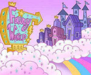 fairy world, fairy, and pink image