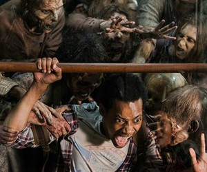 the walking dead, noah, and twd image