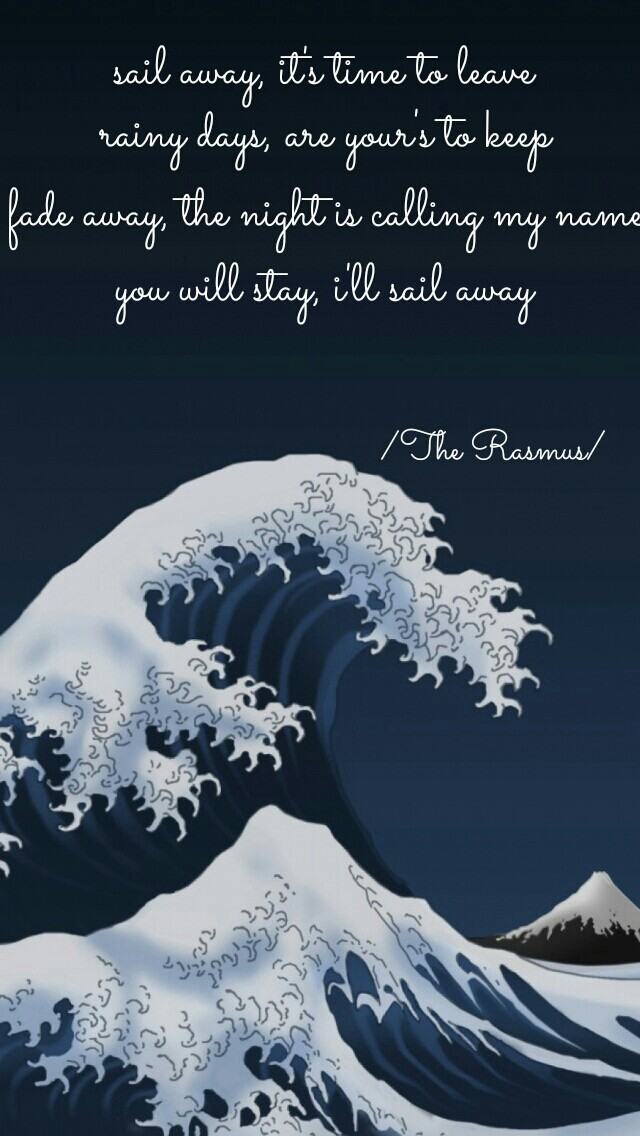 quote, quotes, and sail away image